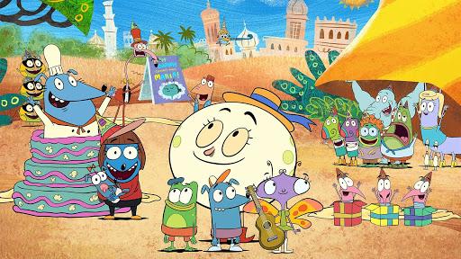 Let's Go Luna! on PBS, by Joe Murray Studio